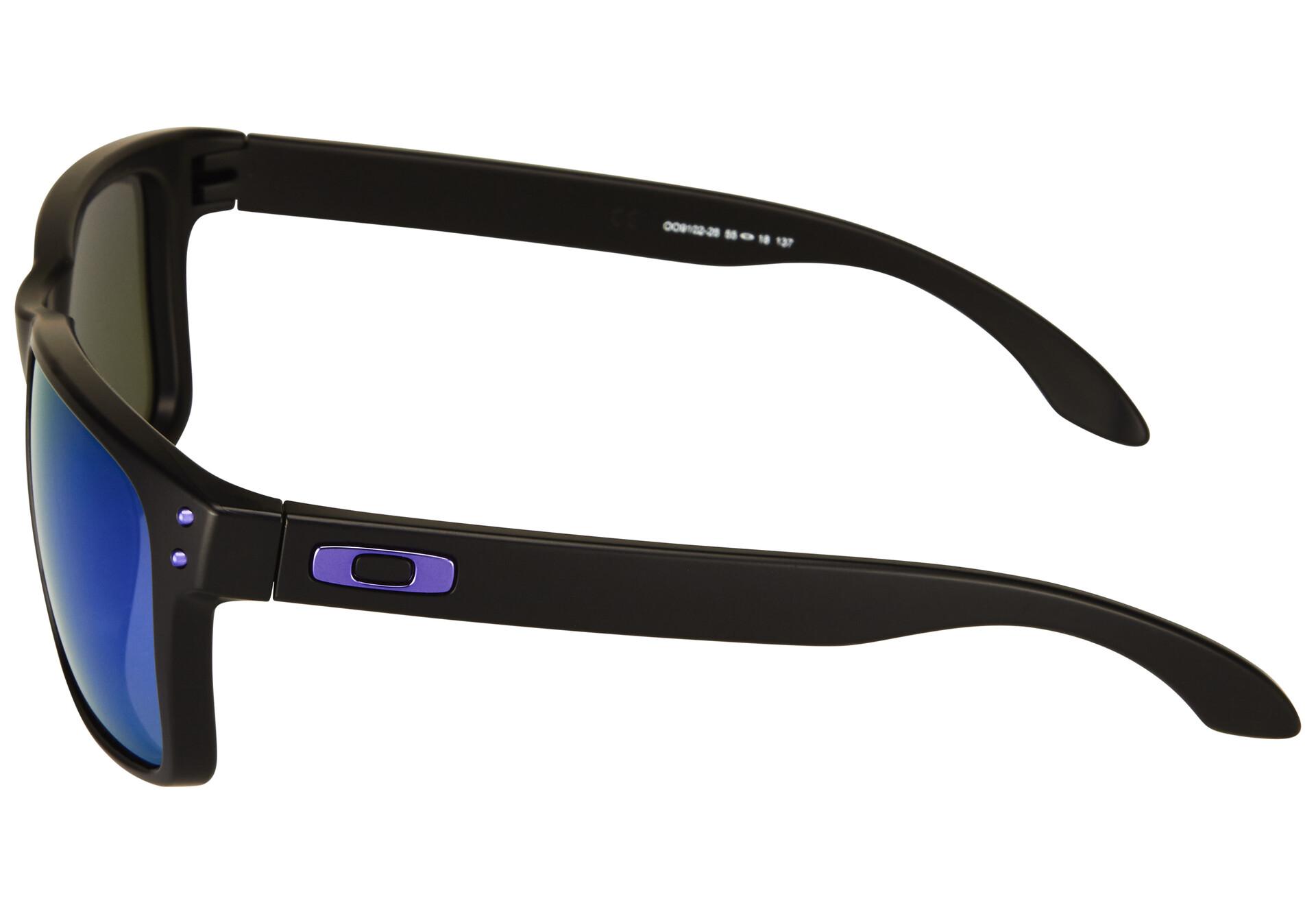 460301fea ... matte black w violet iridium sport sunglasses f8e62 c7348; promo code  for oakley holbrook bike glasses julian wilson black 16124 7dcb1